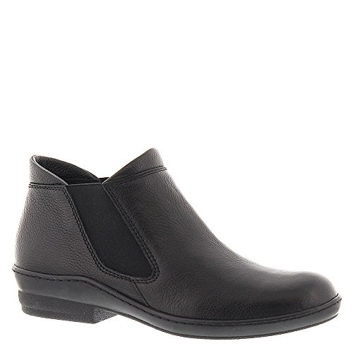 David Tate Women's London Fashion Ankle Boots, Black Leather, 9 N by David Tate