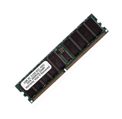 KOMPUTERBAY 1GB PC2100 DDR 266 CL2 ECC Registered 184 Pin - made for Servers not Desktops