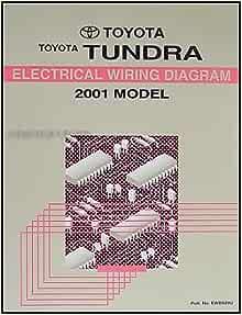 2001 Toyota Tundra Wiring Diagram Manual Original: Toyota: Amazon.com: BooksAmazon.com