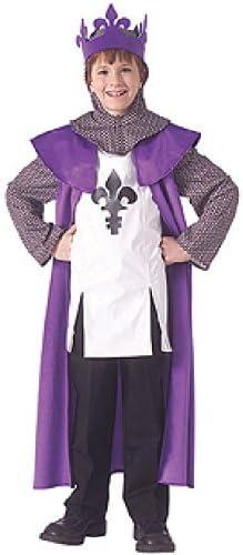 Disfraz de Rey medieval para niños, infantil 5-7 años (Rubies ...