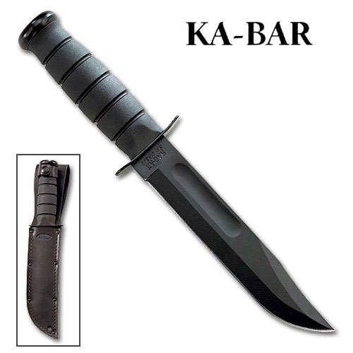 Ka-Bar 2-1211-6 Blk Fighting