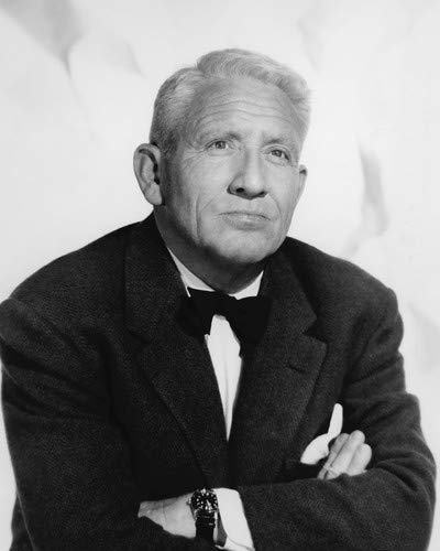 Spencer Tracy studio portrait 1956 arms crossed wearing bow tie 8x10 HD Aluminum Wall Art ()