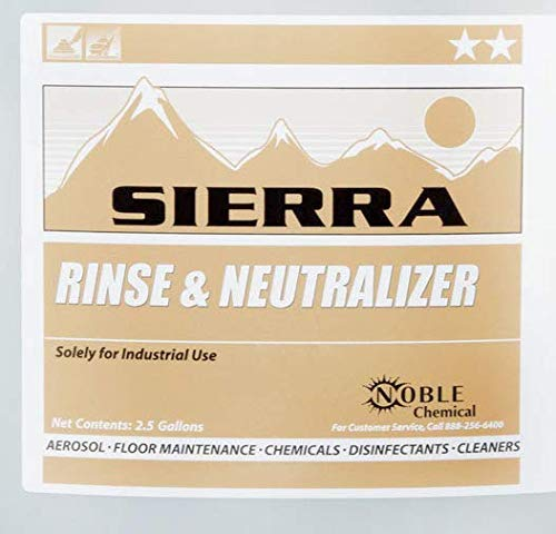 2.5 Gallon / 320 oz. Sierra by Noble Chemical Carpet Rinse & Chemical Neutralizer