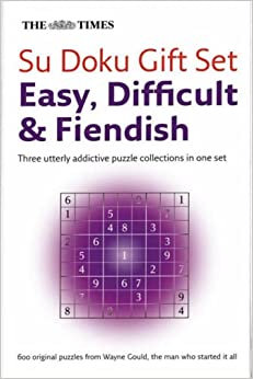 Book The Times Su Doku Giftset: Easy, Difficult, Fiendish