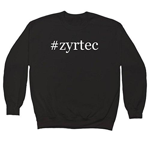 zyrtec-hashtag-mens-crewneck-fleece-sweatshirt