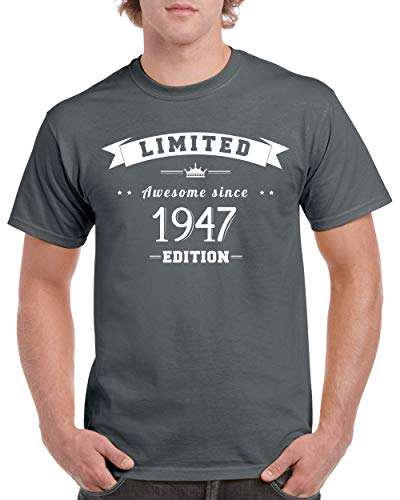 - 72nd Birthday Shirt Limited Edition Born 1947