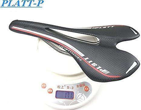 Sillín para Bicicleta de montaña de Fibra de Carbono 275 143 mm 3 ...