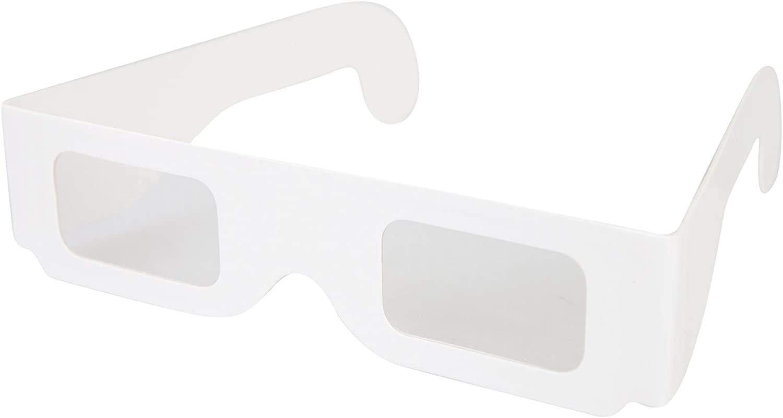 Gafas de difracci/ón de papel para fuegos artificiales y espect/áculos l/áser Explore Crafts 25 vasos