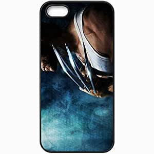 Personalized iPhone 5 5S Cell phone Case/Cover Skin Xmen origins wolverine 4 movies Black