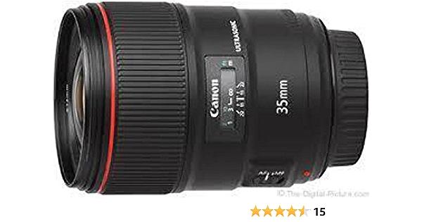 Pomya Camera Lens Hood Plastic Bayonet Mount Lens Hood for Canon EF 35mm F1.4L USM Camera Lens
