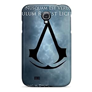 JacquieWasylnuk Samsung Galaxy S4 Scratch Protection Mobile Cover Allow Personal Design Stylish Assassins Creed Skin [sNv4574IgEP]