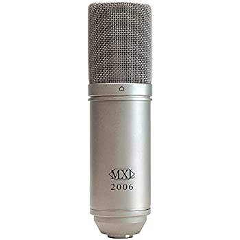 mxl 2006 large gold diaphragm condenser microphone with mxl 57 shock mount and. Black Bedroom Furniture Sets. Home Design Ideas