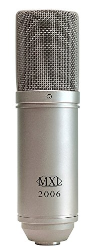 MXL 2006 Large Gold Diaphragm Condenser Microphone with MXL-57 Shock Mount and Carrying Case ()