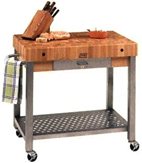 amazon com john boos cucina elegante 30 x 20 hard maple top with rh amazon com john boos cucina technica kitchen cart john boos cucina elegante kitchen cart