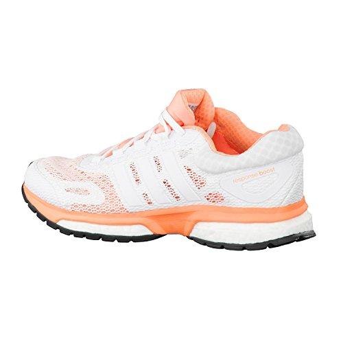Adidas Response Material de Boost Zapatillas W negro Mujer gris sintético Running de qfcqrdx