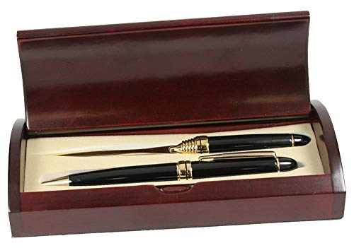 Solid Brass Executive Pen and Letter Opener Set
