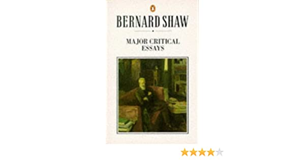 major critical essays shaw library george bernard shaw michael major critical essays shaw library george bernard shaw michael holroyd 9780140450293 com books