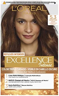 LOréal Paris Excellence Intense Coloración, Tono: 5,3 ...