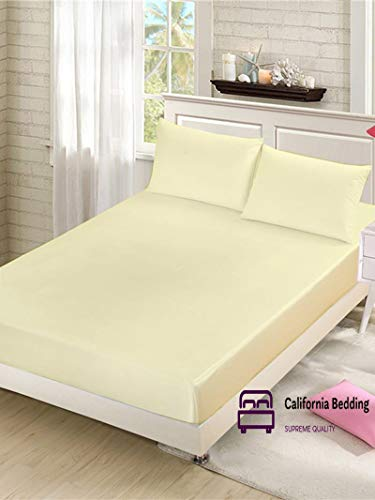 - Hotel Luxury 600 TC Long-Staple Egyptian Cotton Queen 60x80 Size 3pcs Fitted Sheet Fits Mattress 9