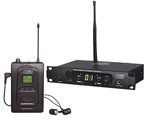 Audio2000'S AWM6304U 100 Selectable Frequency UHF In-Ear Monitor System