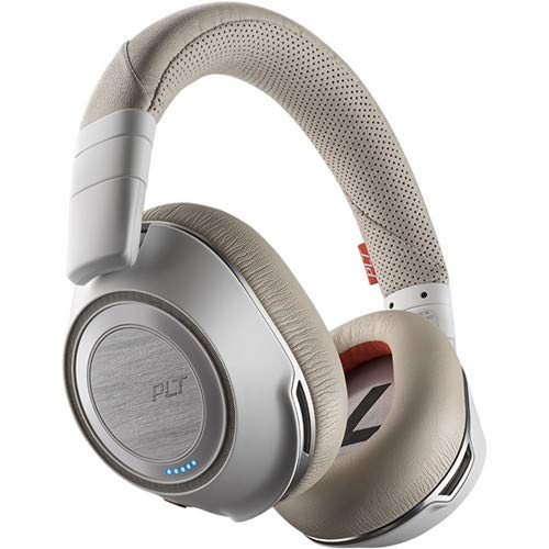 Plantronics Voyager 8200 UC Stereo Bluetooth USB Headset with Active Noise  Cancelling - White