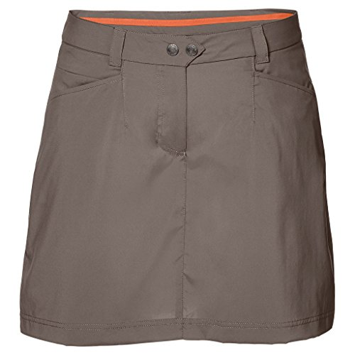 Jack Wolfskin Womens/Ladies Sonora Quick Dry Stretch Travel Skorts Siltstone