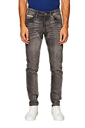 edc by Esprit, Vaqueros Skinny para Hombre Gris (Grey Medium Wash 922)