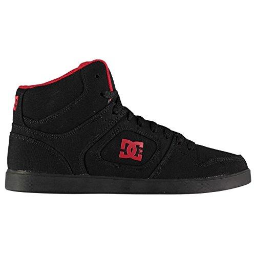 nero DC Skateboarding Union da skate rosso ginnastica High Shoes uomo Top scarpe Original q5POzwn