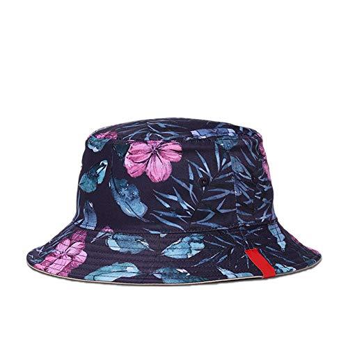 Qifumaer Printed Bucket Hat Lightweight Clan Characteristics Space Saving Bucket Hats Unisex Mens