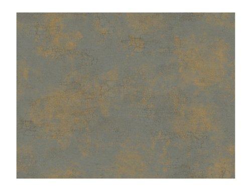 - York Wallcoverings Brandywine Texture Removable Wallpaper, Deep Pearled Platinum/Bronze/Cool Tan