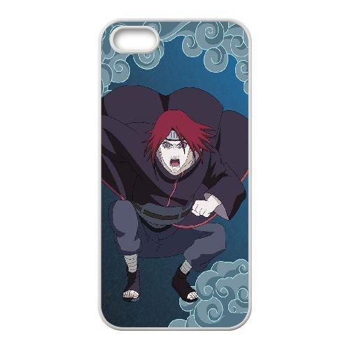 Nagato Naruto ShiPpuden 3 coque iPhone 4 4S Housse Blanc téléphone portable couverture de cas coque EOKXLKNBC22678