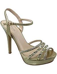 Women Rubi Adjustable ankle strap Heel