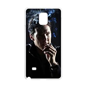 Benedict Cumberbatch Samsung Galaxy Note 4 Cell Phone Case White yyfabc-366001