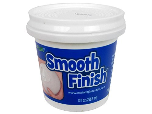 FloraCraft Smooth Finish 8oz Paintable Coating Flora Craft