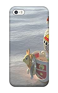 Fashion Tpu Case For Iphone 5/5s- One Piece Anime Ships Digital Art Artwork Sunny Defender Case Cover