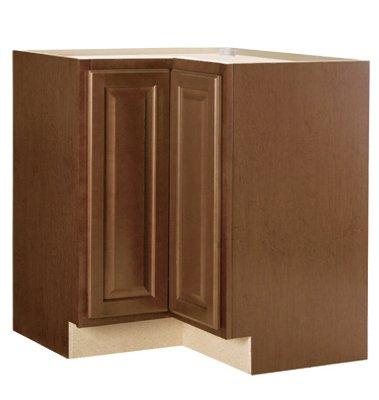 Rsi Home Products Sales CBKBLS36-COG Cafe Finish Assembled Base Lazy Susan Base Cabinet, 36