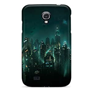 LauraAdamicska Samsung Galaxy S4 Perfect Hard Phone Case Custom HD Bioshock Rapture Image [moH12415BEAG]