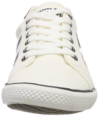 4885601 white Tom Hombre Weiß Tailor Para Zapatillas Bgn5wa4q