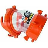 Camco 39847 Rhino Flex Clear 45-Degree RV Sewer Hose Swivel Fitting