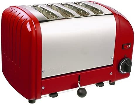 Dualit 4 Slice Toaster Red