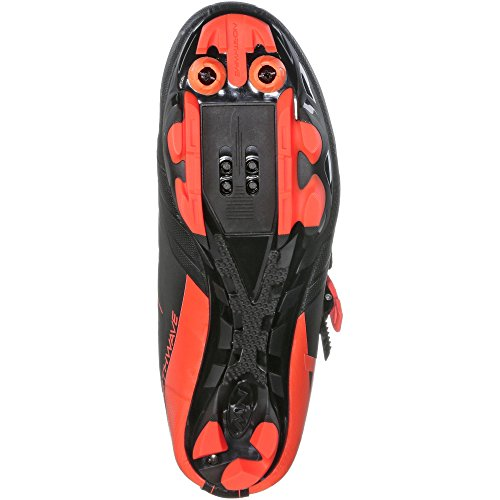 Northwave Scream 2Srs bicicleta de montaña guantes negro/naranja 2018