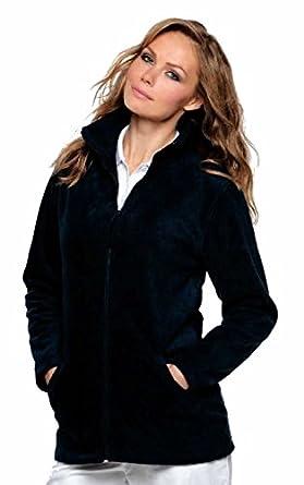 Ladies Full Zip Premium Fleece Jackets Sizes 8 to 22 SUITABLE FOR ...