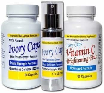 System 1 (Basic System) Skin Whitening Lightening Support Systems