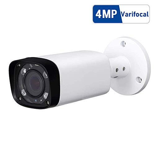 4MP Outdoor Bullet PoE IP Camera, IPC-HFW4431R-Z 2.7-12mm Motorized Varifocal Lens 4X Optical Zoom, IR Night Vision 60m…