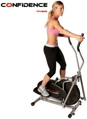 Confidence Elíptica con Ordenador Fitness: Amazon.es: Deportes y ...