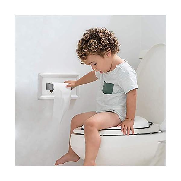 4106AdAGymL Auxmir Toilettenpapierhalter ohne Bohren, WC Klopapierhalter Rollenhalter Papierhalter Klorollenhalter Edelstahl…