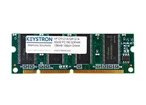 HP C9121A Q9121A Q7709A Q7709AX 128MB 100 pin SDRAM MEMORY DIMM for HP LaserJet 2300 2300d 2300L 2300n 2300dn 2300dtn