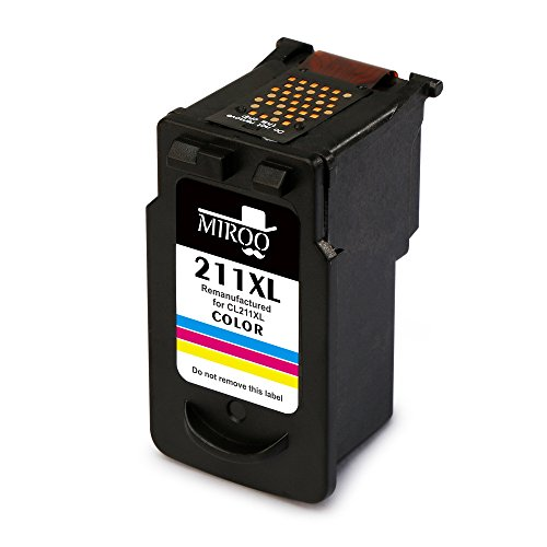 MIROO Remanufactured Canon PG-210XL CL-211XL Ink Cartridge Combo, Use on Canon PIXMA MP495 MP280 MP250 MP490 MP480 IP2702 MP230 MX410 MX420 MX340 MP270 MP240 MX350 MX330 MX320 MP499 IP2700 MX360 MX410 Photo #2