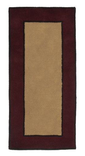 Minuteman International Contemporary II Berry Rectangular Wool Hearth Rug