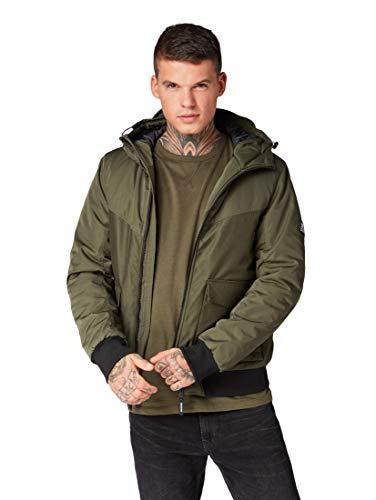 Tailor Woodland Blouson Green Tom Winter Para Jacke Denim Chaqueta Hombre SdnqwFU